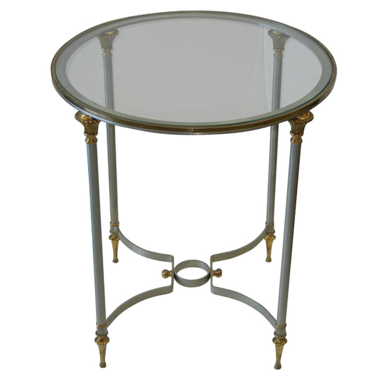 Maison Jansen  Round Occasional Table $2,000