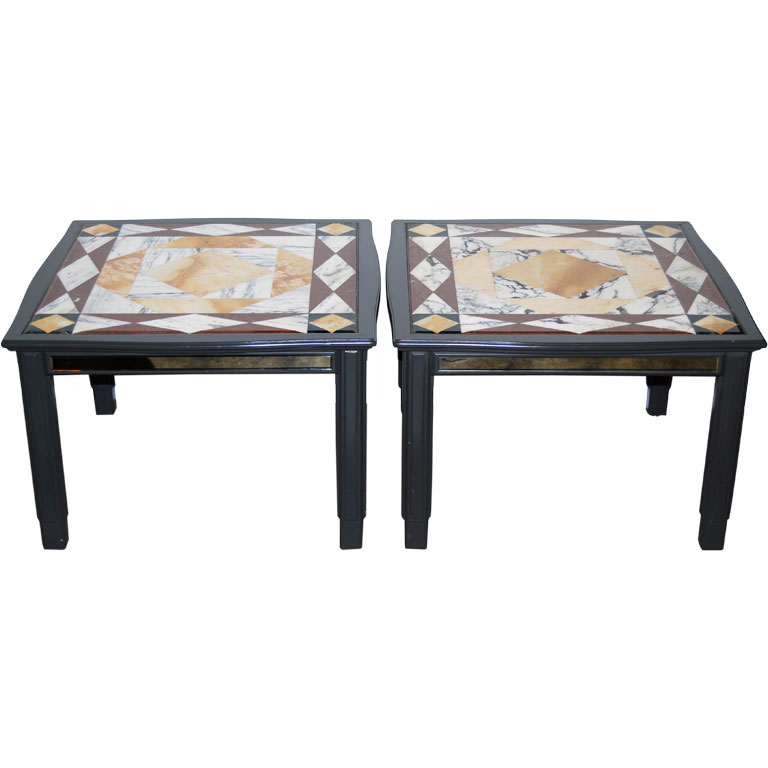 Paul Laszlo  Custom Side Tables From the Kreedman Residence $9,500