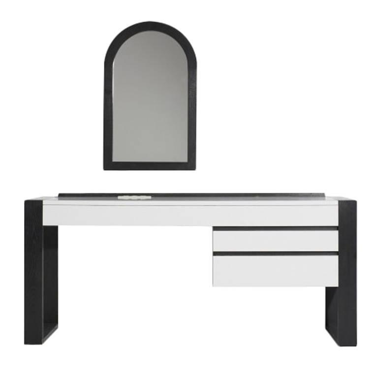 Shiro Kuramata  Rare Wall-Mounted Desk and Mirror for Dalichi Hotel $18,500
