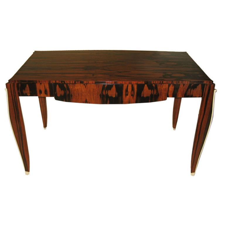 Exotic Macassar Ebony Desk $6,500