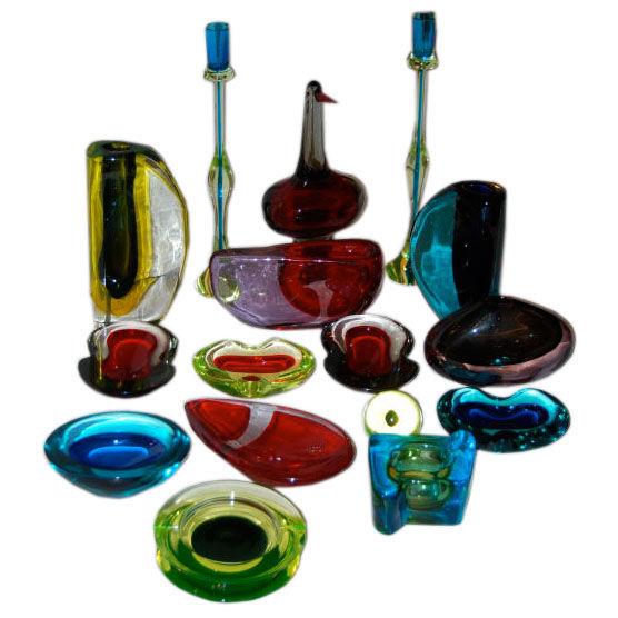 Antonio Da Ros  Collection of Cenedese Glass $31,500