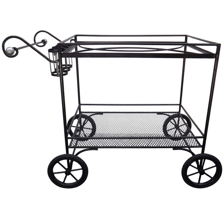 John Good  Outdoor Serving Cart $2,700
