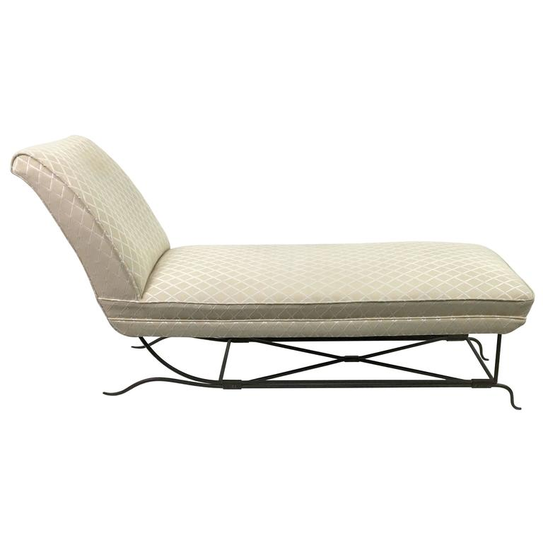 Colette Gueden   rare documented chaise longue $17,500