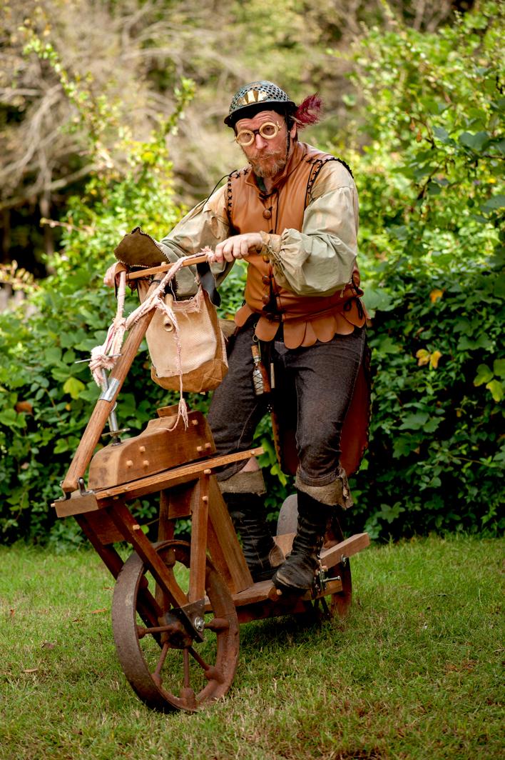 Gunther Tinkerson, Village Inventor!