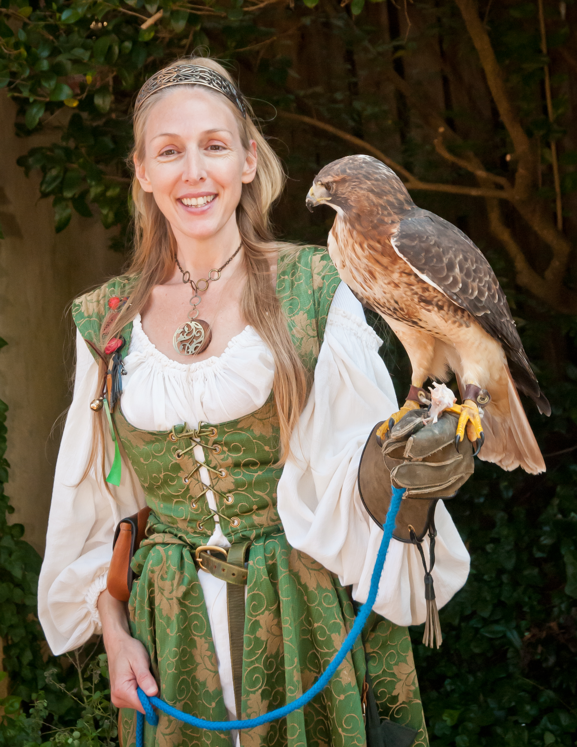 Meet the Royal Falconer's Birds!