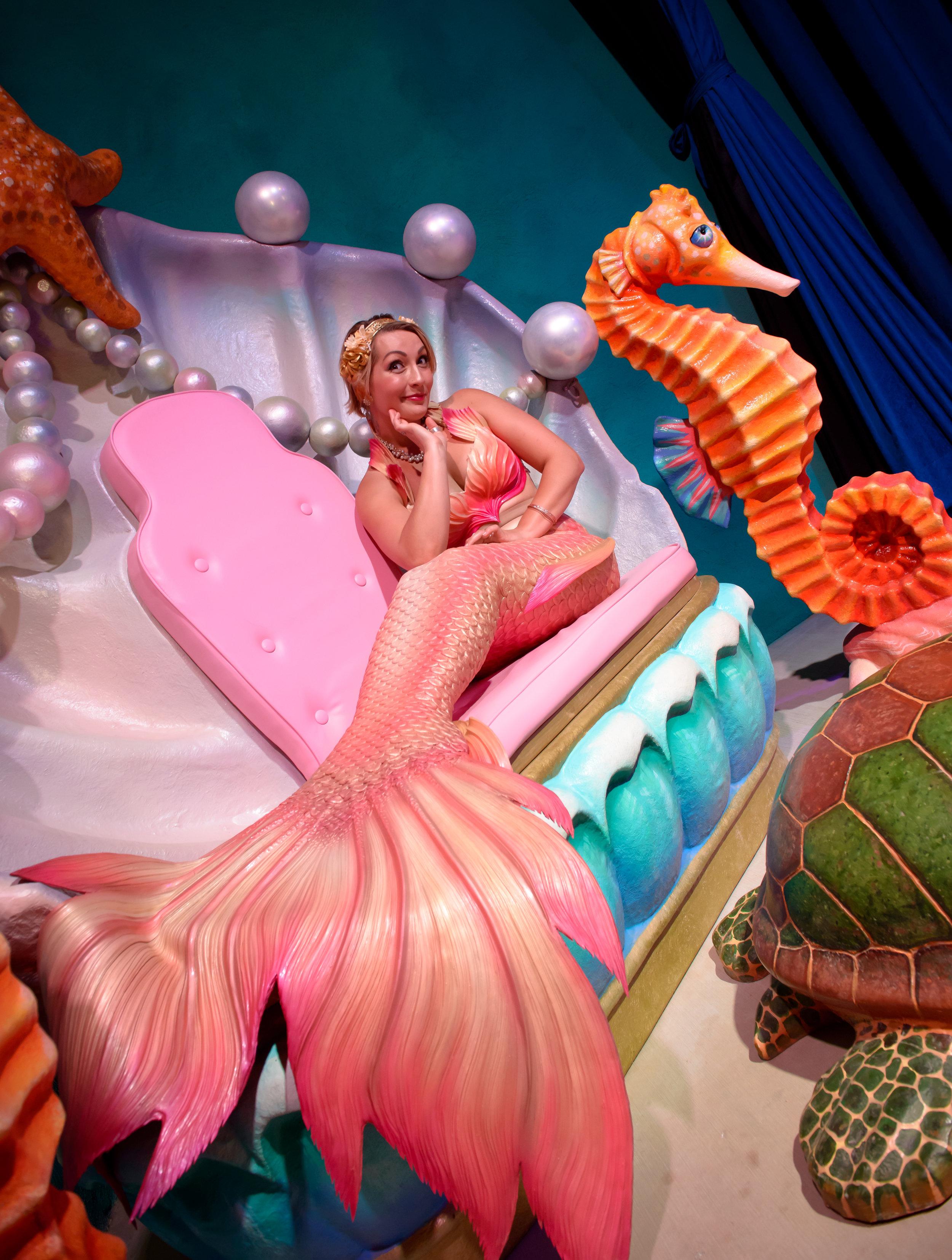 Living Mermaids!  Fairies of the Sea!