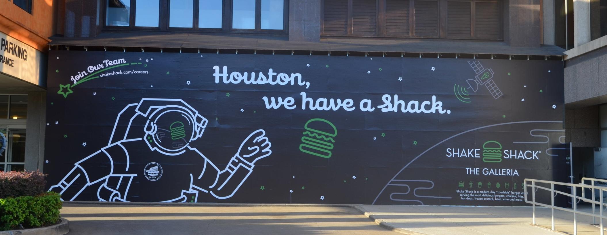 Houston Galleria Hoarding