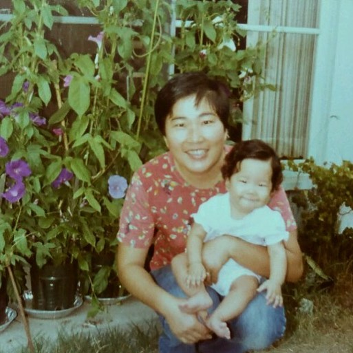 Happy Mother's Day to my momma and all the new moms out there! 💞 She texted this pic of us where I'm about the same age as Avery now. #urushibatas