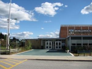 Entrance - monadnock reg. high school