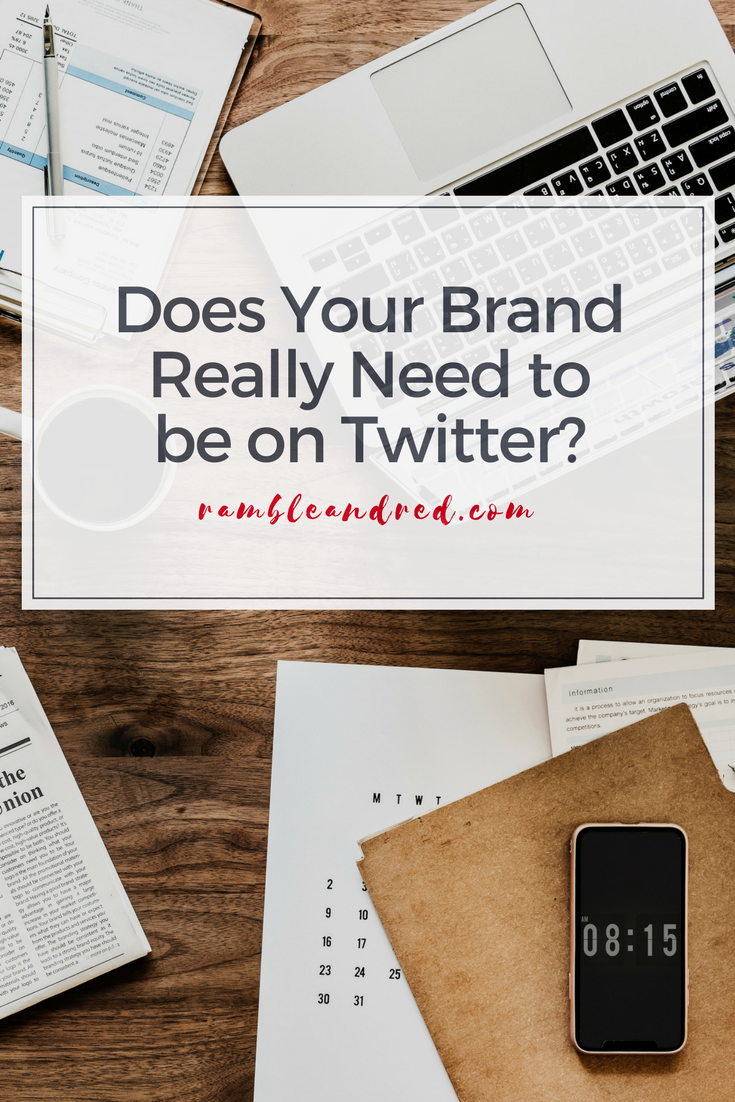 What platforms should a brand or business market on? Twitter may not be the right choice.