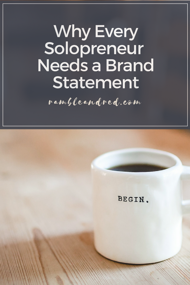 Defining your brand positioning statement as a marketing generalist