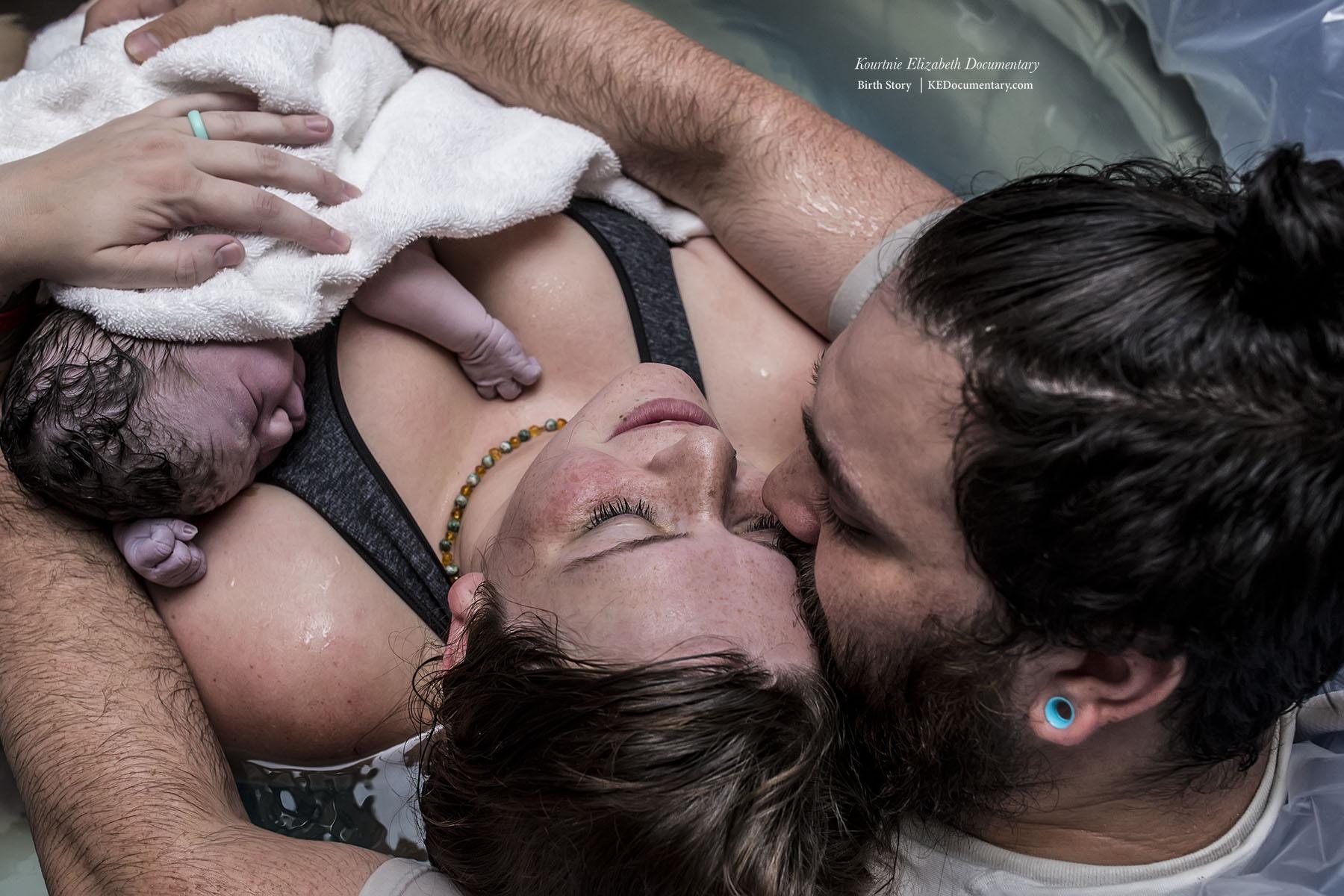 When you fall in love all over again.   KE Documentary