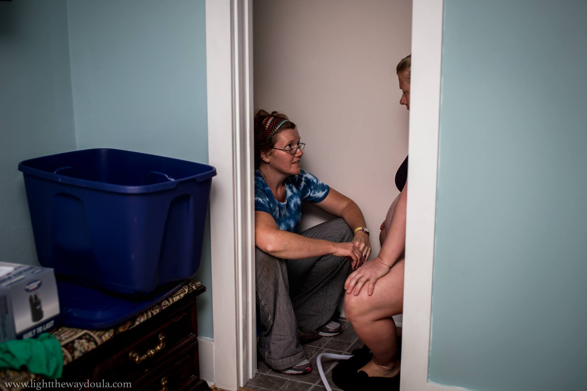 Annmarie is amazing at holding space for moms. Her presence easily calms the room and empowers women in their birthing choices.  Light the Way Doula Services