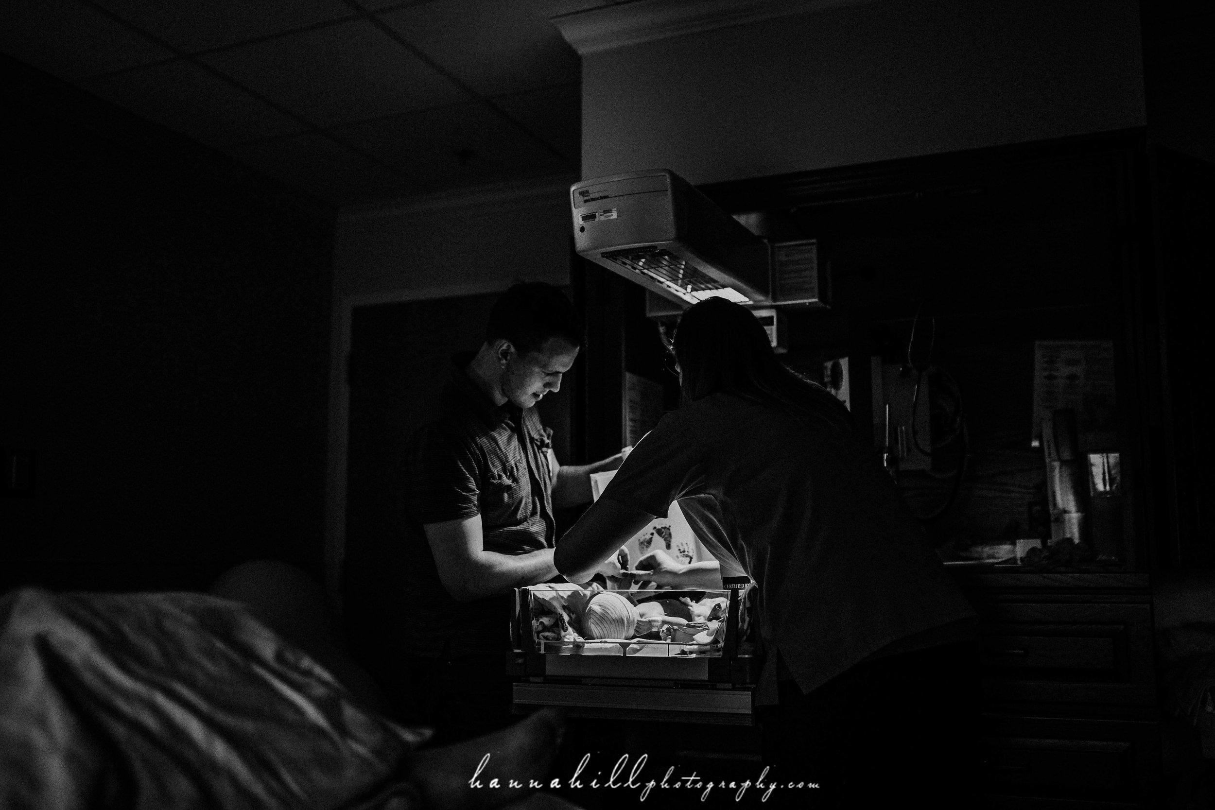 Long hospital birth
