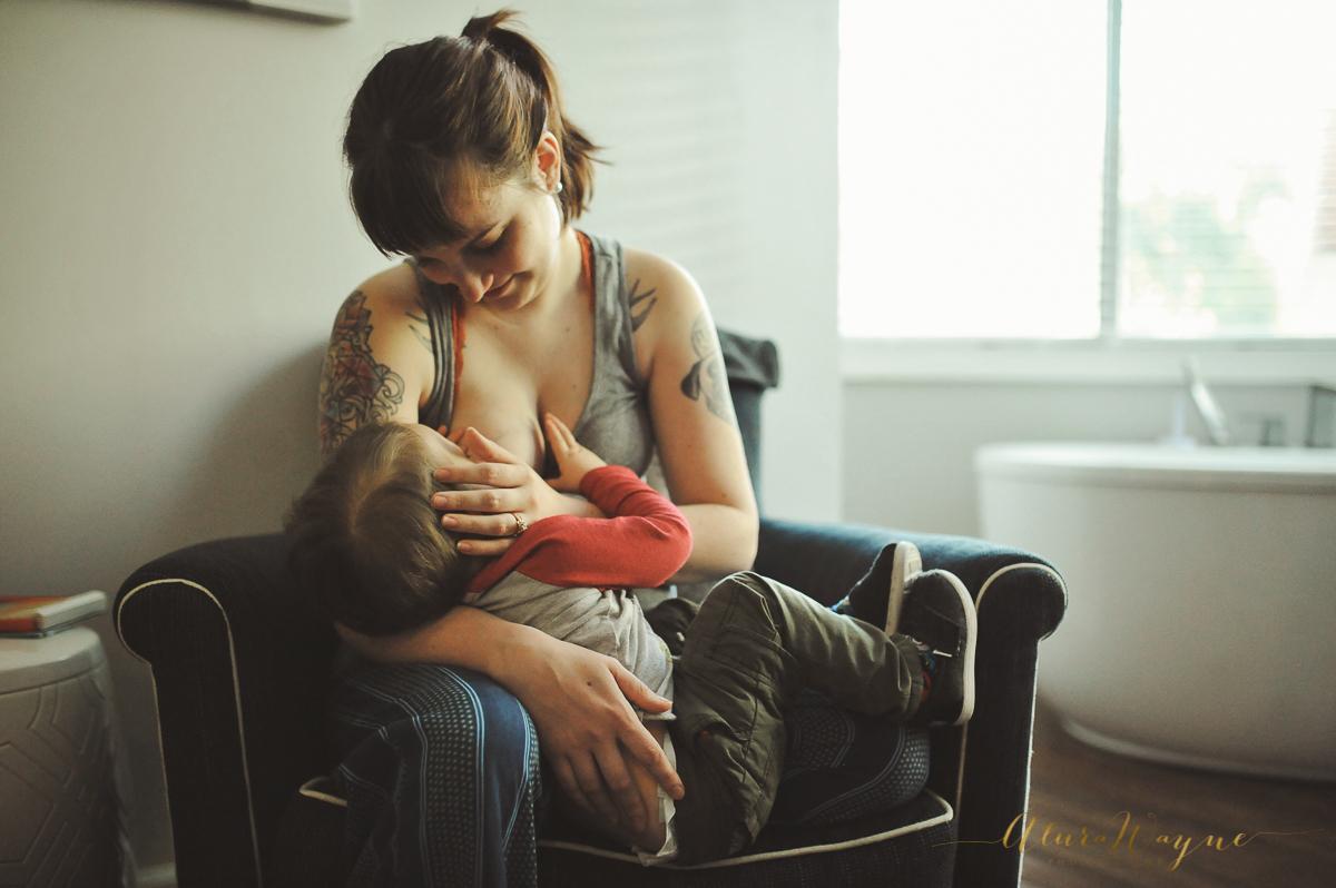 Breastfeeding and labor