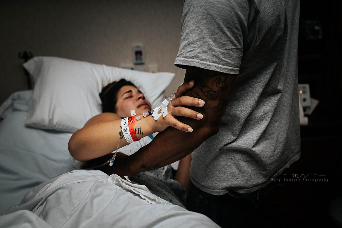 partner support, hospital, labor