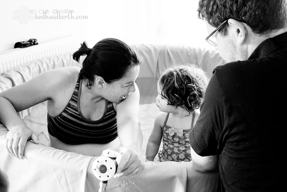 sibling support, labor, birth, homebirth