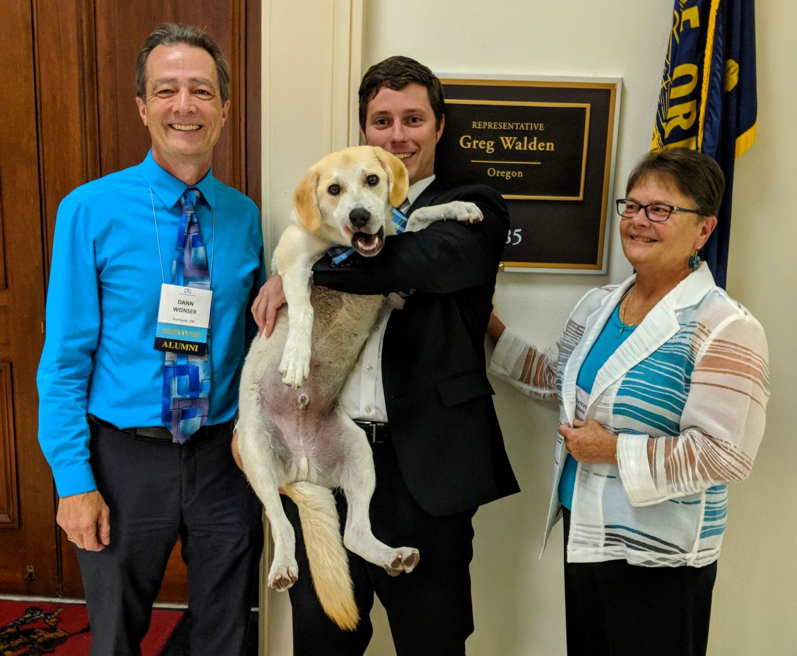 Nolan Ahern: Every day is Bring Your Dog to Work Day in Rep. Greg Walden's Office!