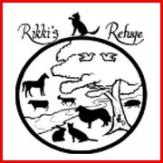 "RIKKI'S REFUGE  ""Rikki's Refuge is a no-kill, all species peaceful sanctuary, home to over 1200 animals of 20 different species, including but not limited to cats, dogs, sheep, goats, rabbits, pigs, emus, chickens, ducks, geese, a chukar, peacocks, and more."""