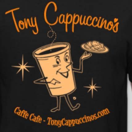 TONY CAPPUCCINO'S, Charlottesville  Cappuccino and biscotti!