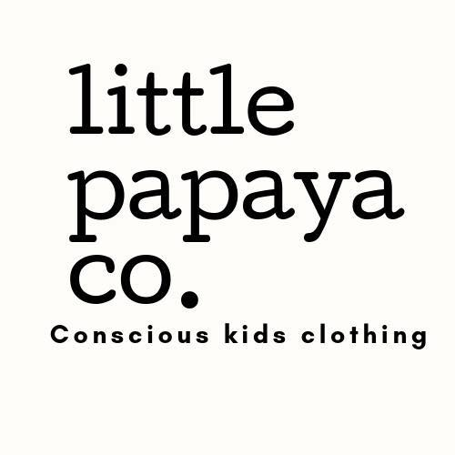 "LITTLE PAPAYA  ""I sell children's onesies and tees that support veganism and conscious living."""