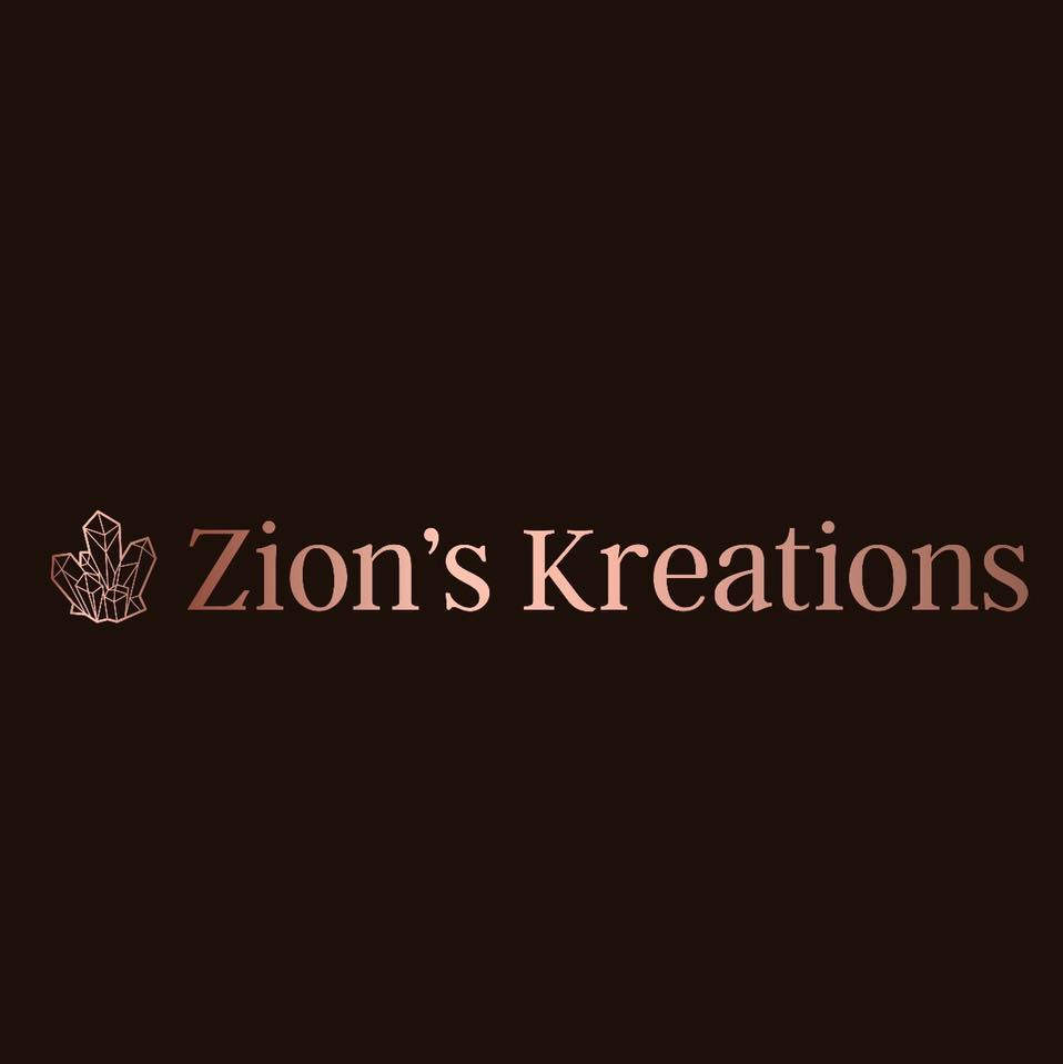 "ZION'S KREATIONS  ""Bath bombs and salts, all vegan. Wrapped crystal jewelry and CBD products."""
