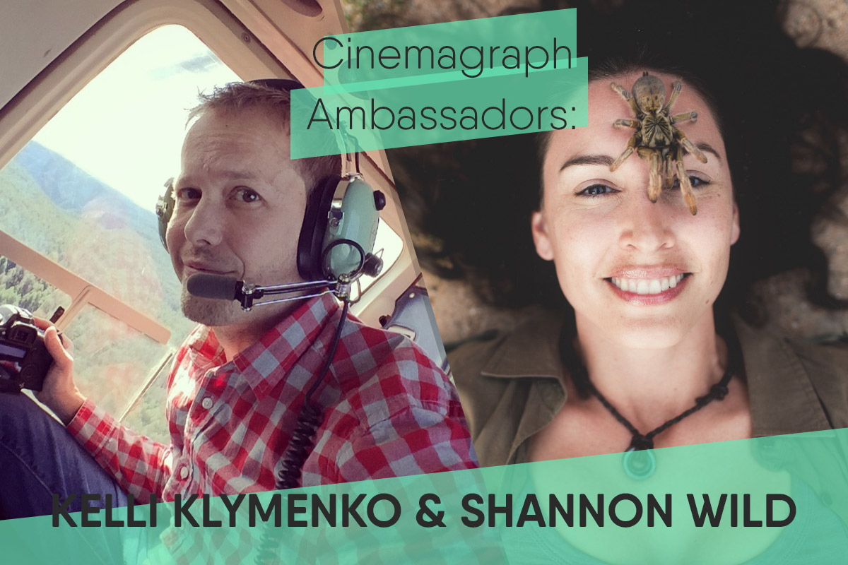 """ Meet the Cinemagraph Influencers of Facebook and Instagram:    Shannon Wild and Kelli Klymenko""  — gallereplay"