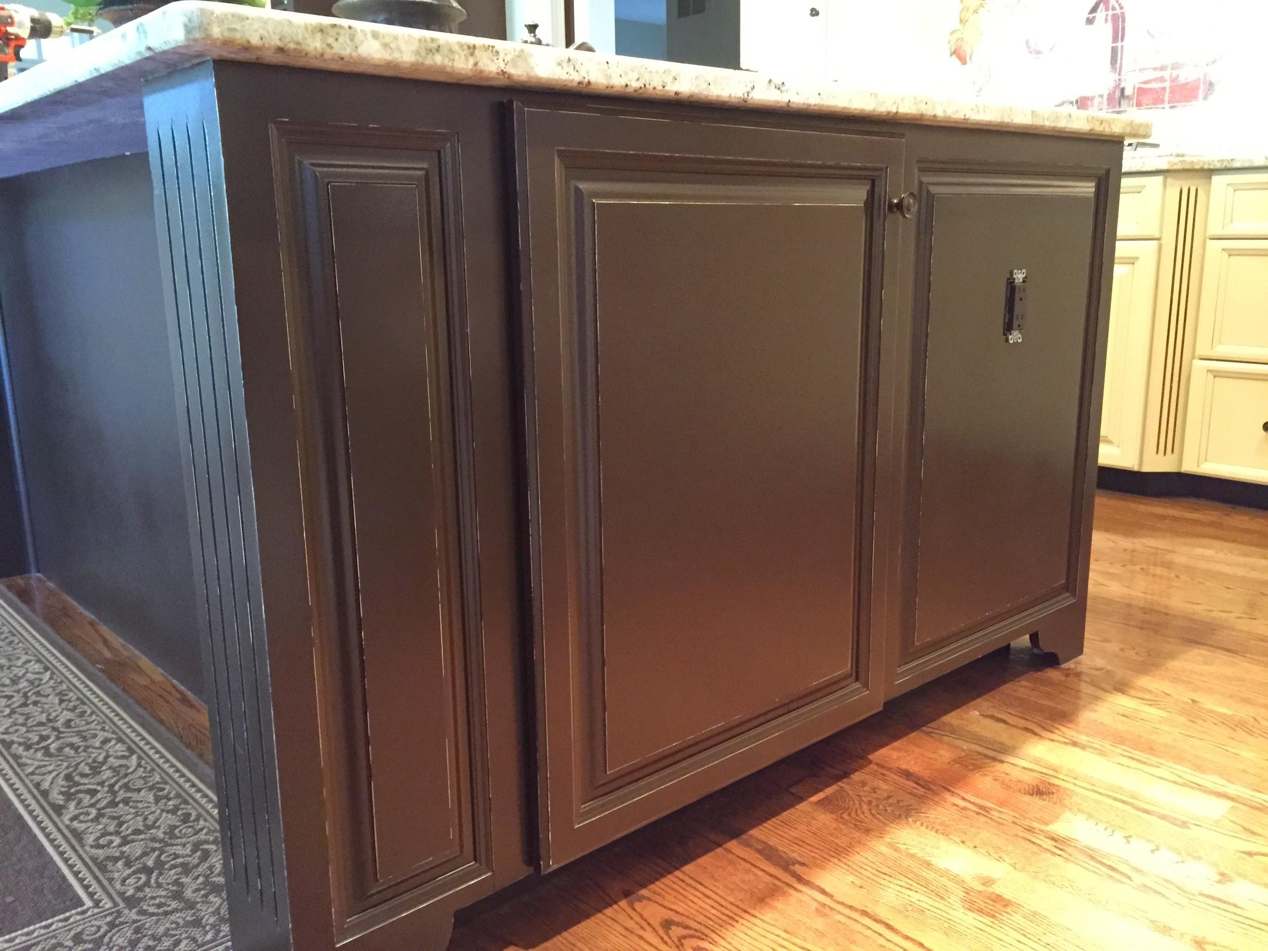 Kitchen Cabinet Painting Distressed Malvern, PA