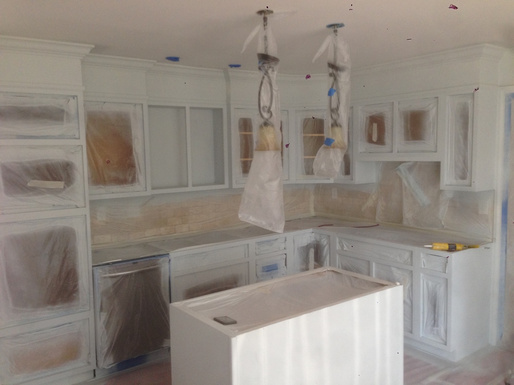 Kitchen Cabinet Painting Interior And Exterior Residential