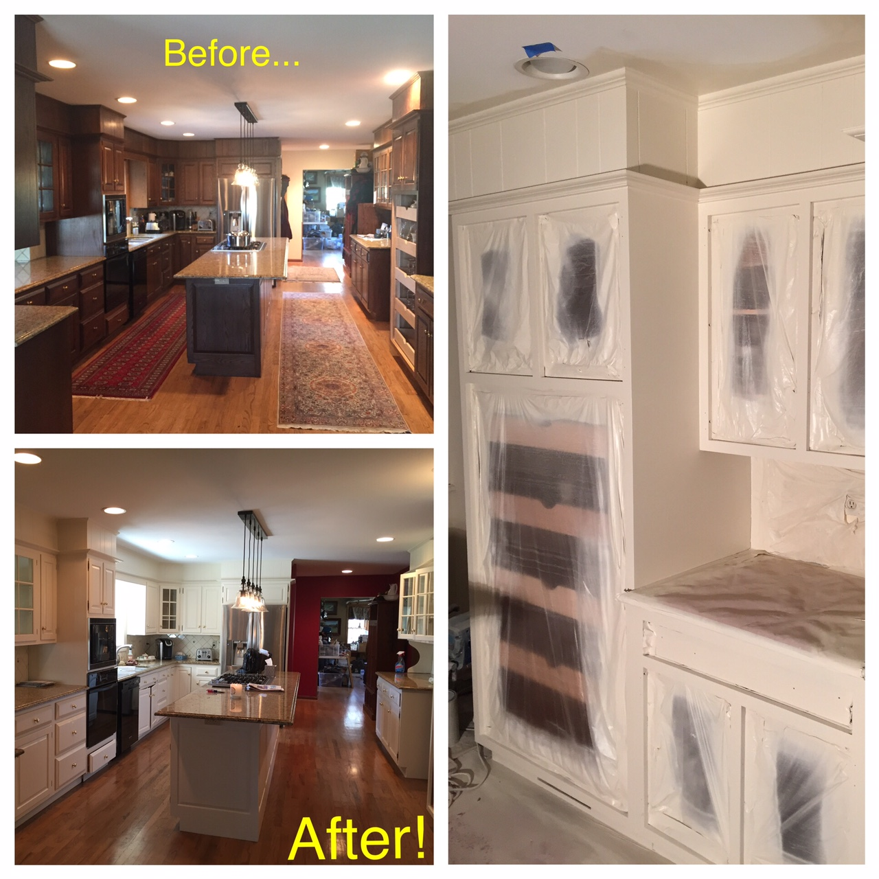Kitchen Cabinet Painting West Chester, PA