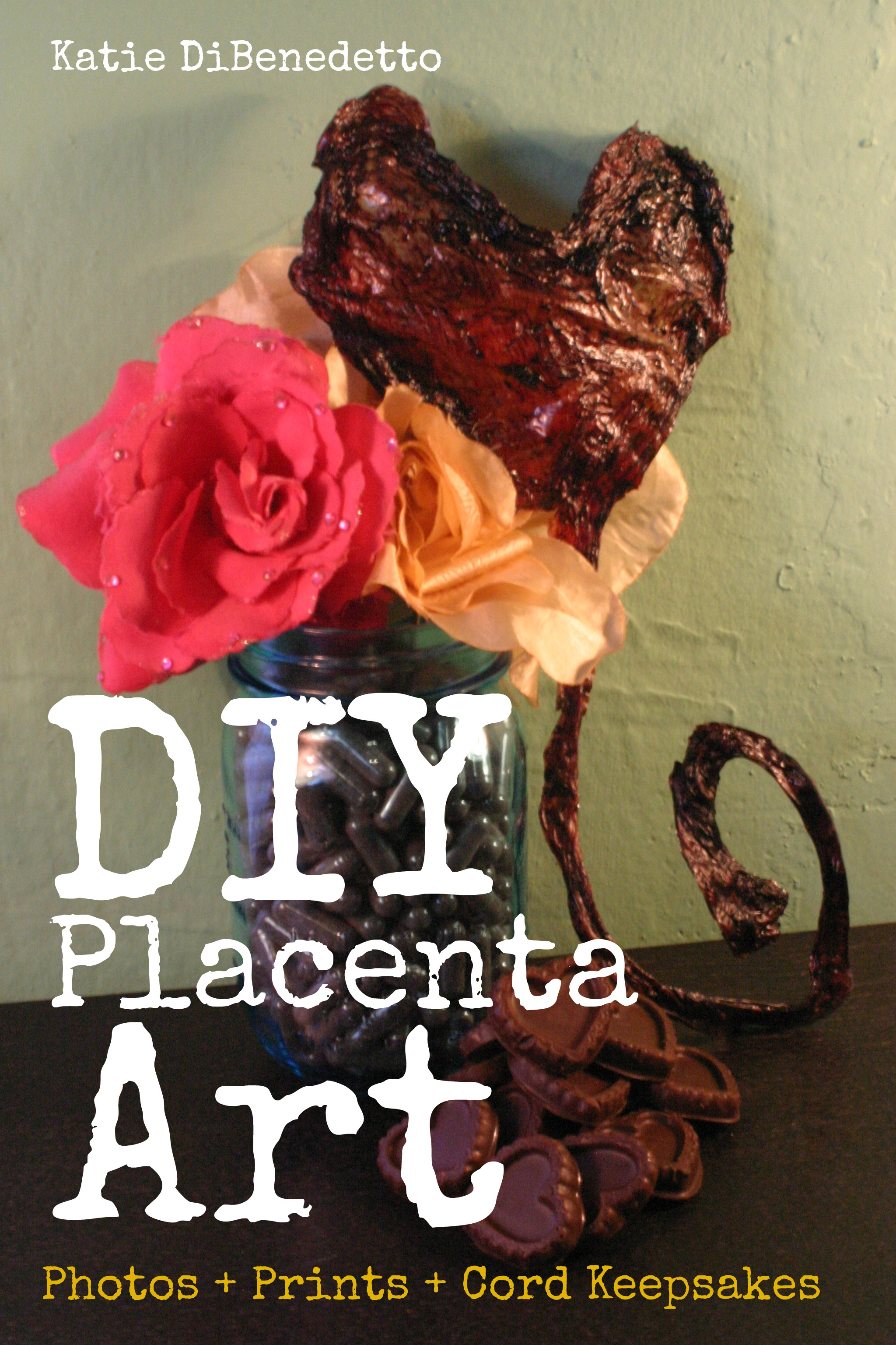 DIY Placenta Art: Photos + Prints + Cord Keepsakes