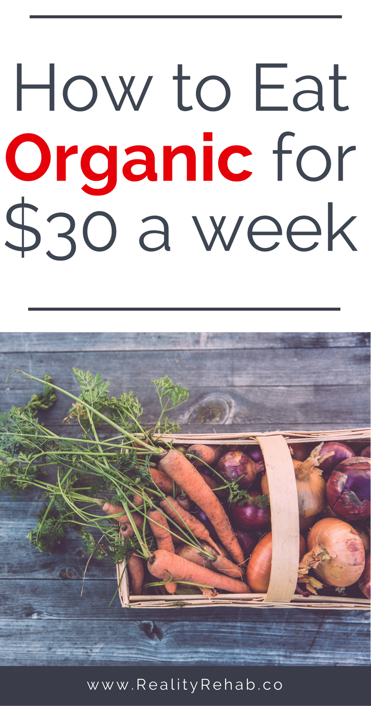How to Eat Organic for $30 a Week | Cock & Crow Blog #organic #budget #food #healthy