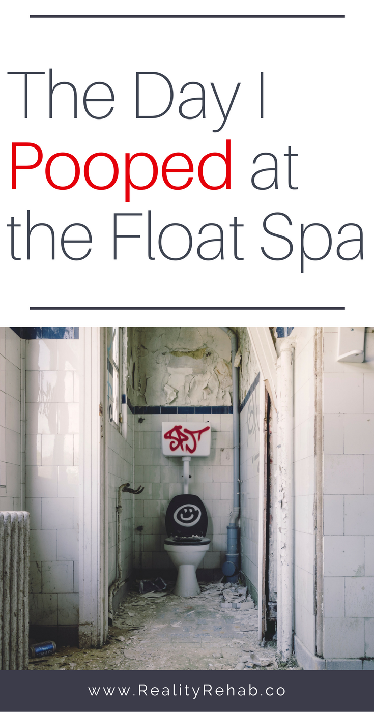 The Day I Pooped at the Float Spa | Cock & Crow Blog #floatspa #saltwater #poop