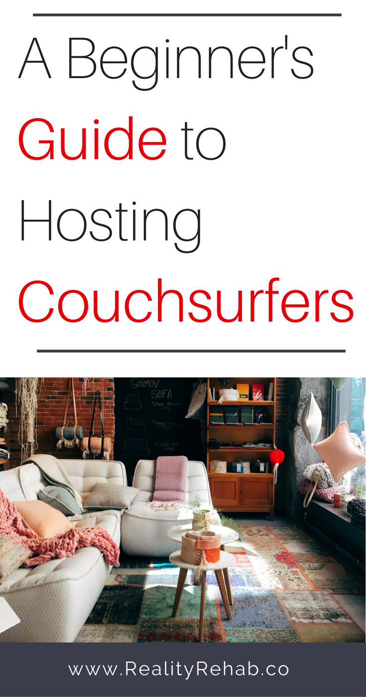 A Beginner's Guide to Hosting Couchsurfers | Cock & Crow Blog #travel #couchsurfing #hosting