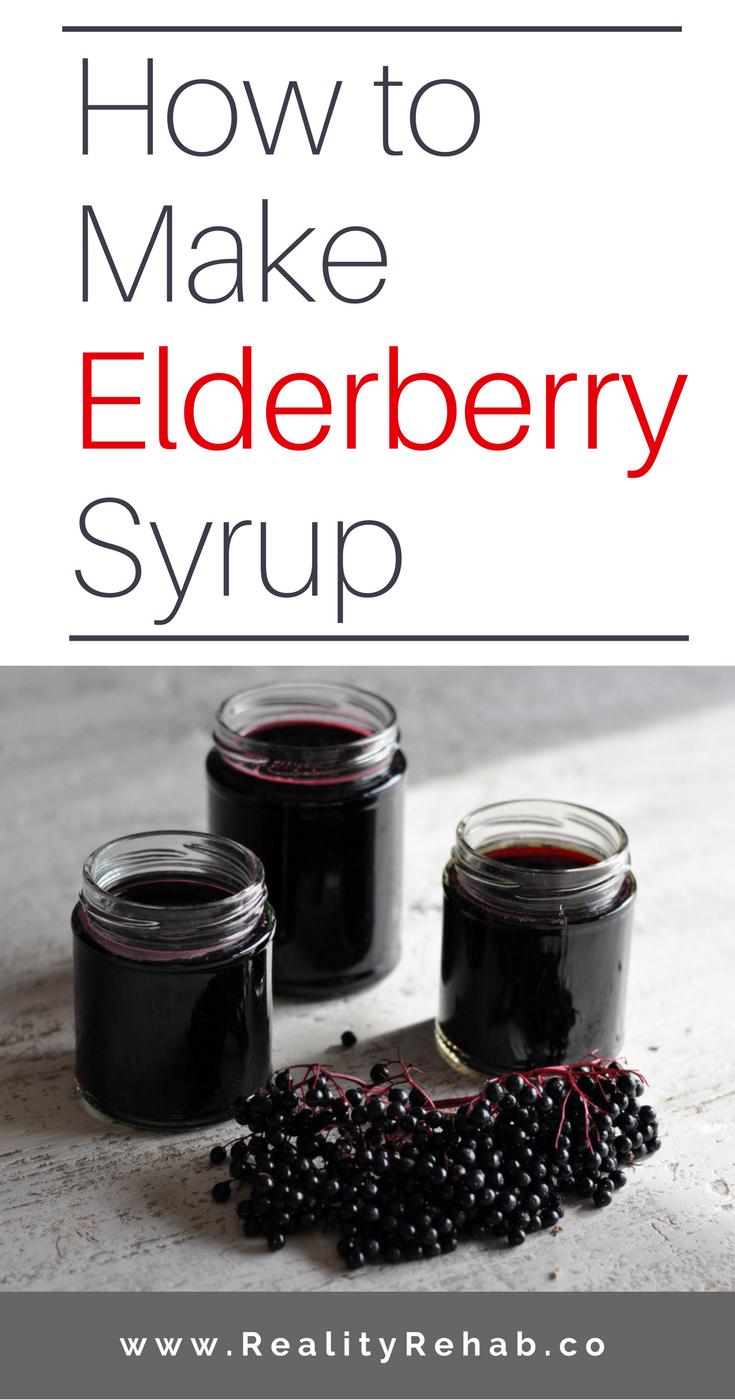 How to Make Elderberry Syrup | Cock & Crow Blog #elderberry #herbs #medicine #recipe