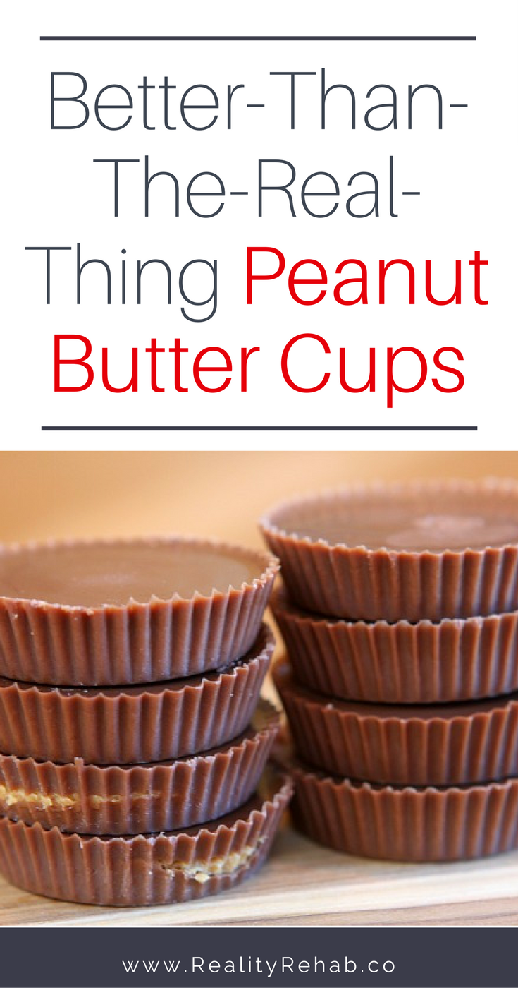 Better Than the Real Thing Peanut Butter Cups | Cock & Crow Blog #recipe #dessert #healthy #peanutbutter #chocolate