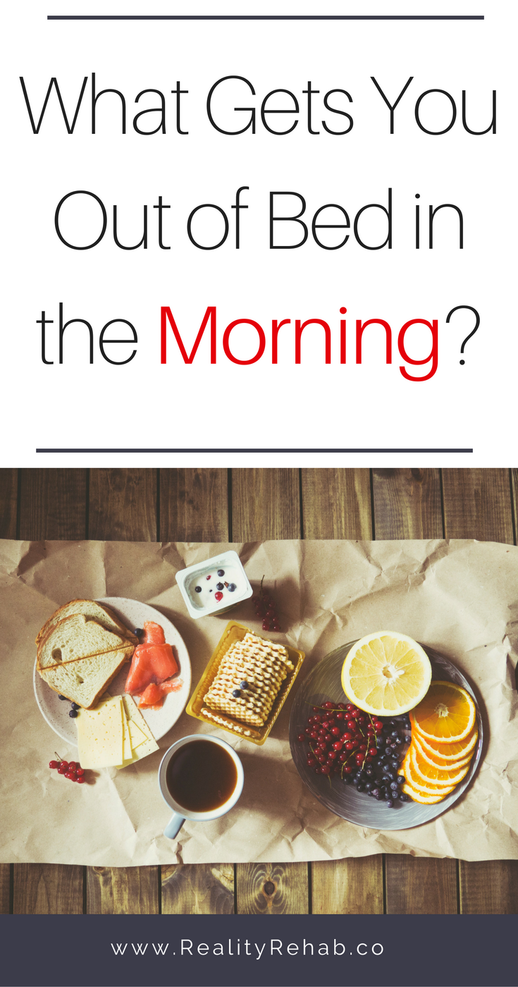 What Gets YOU Out of Bed in the Morning? | Cock & Crow Blog #dreams #ambition #work #passion