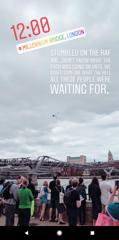 RAF 100 | London, England