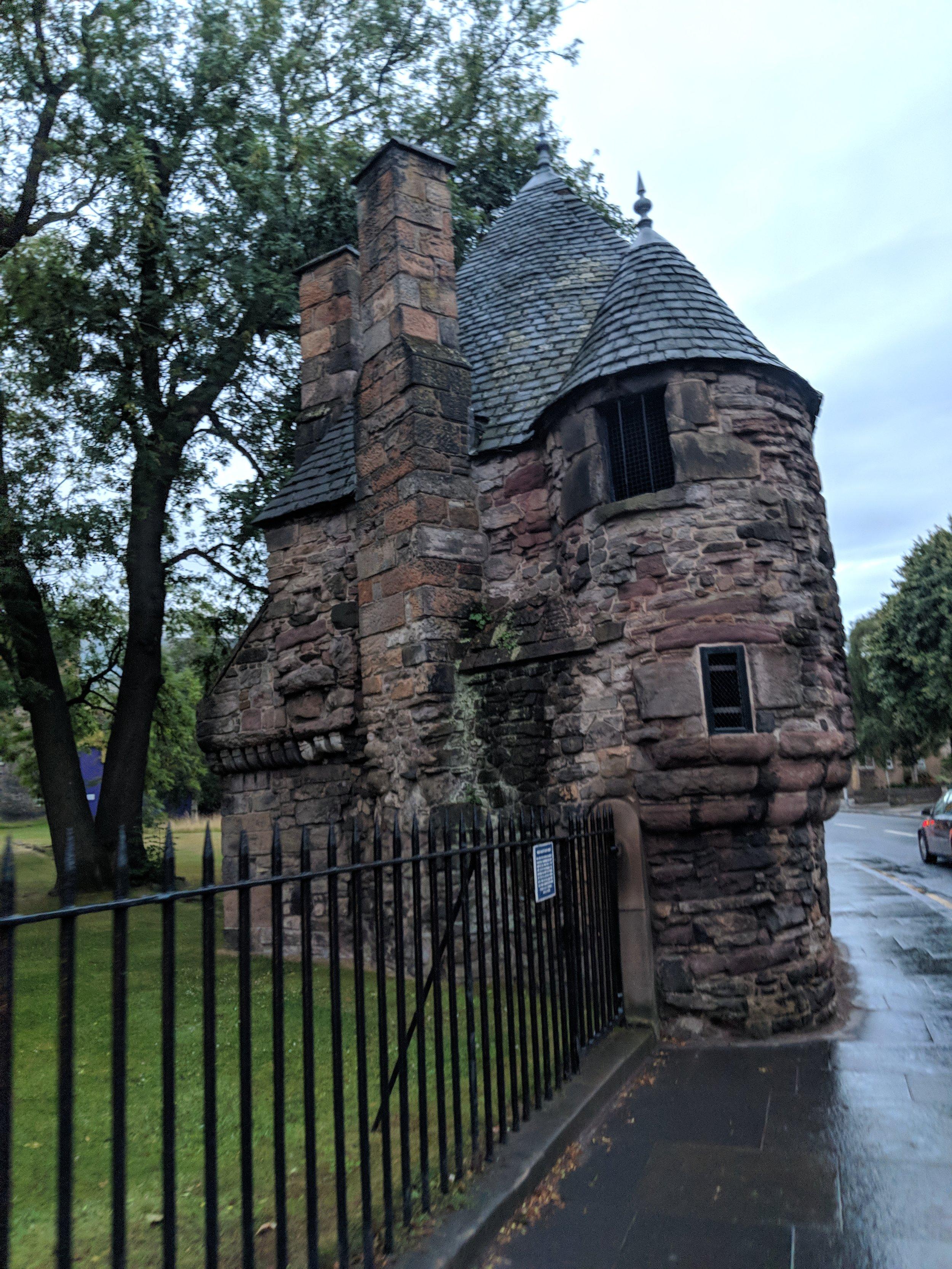 Queen Mary's Bath House Holyrood Palace Edinburgh