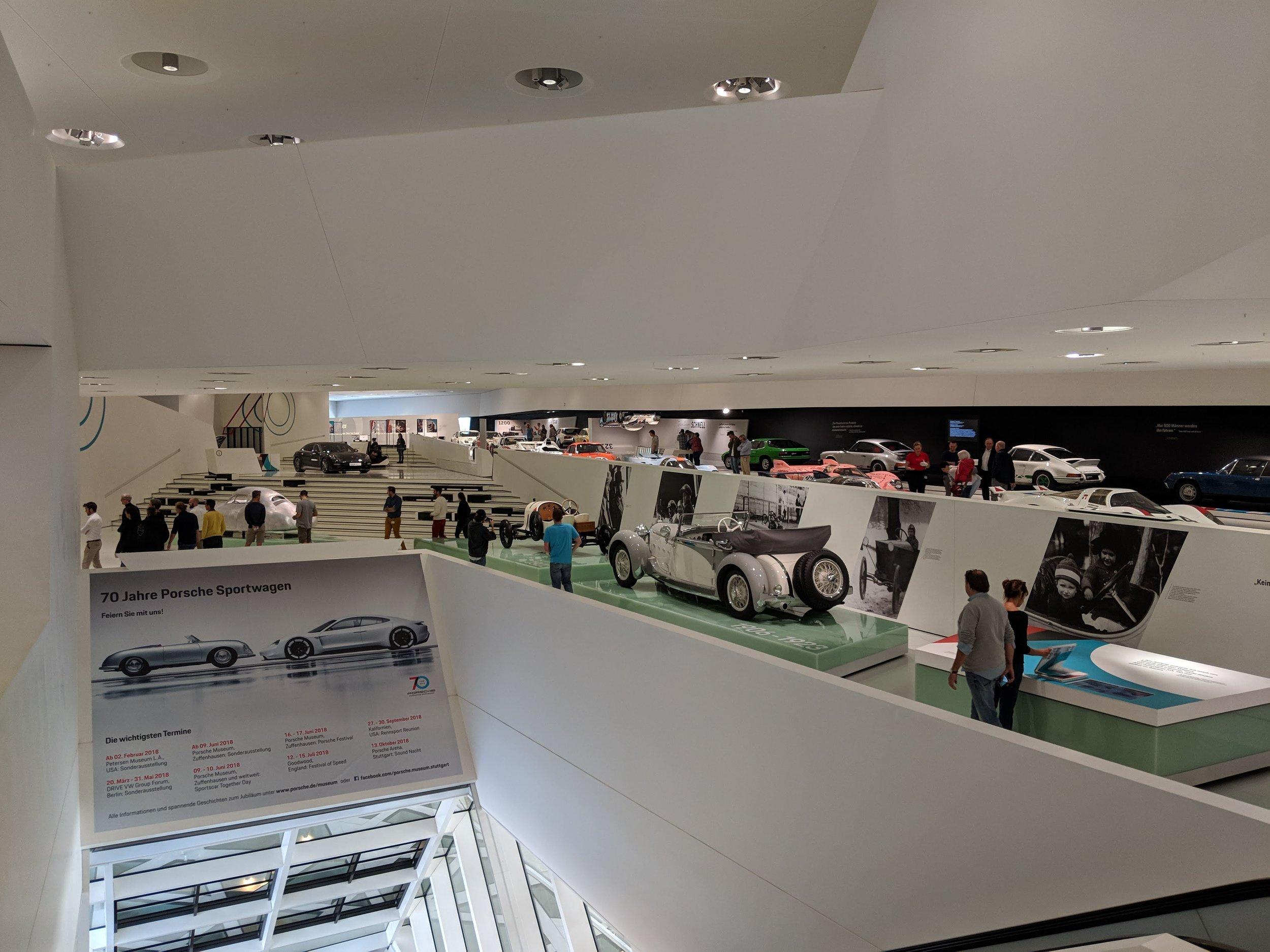 Porsche Museum, Stuttgart Germany