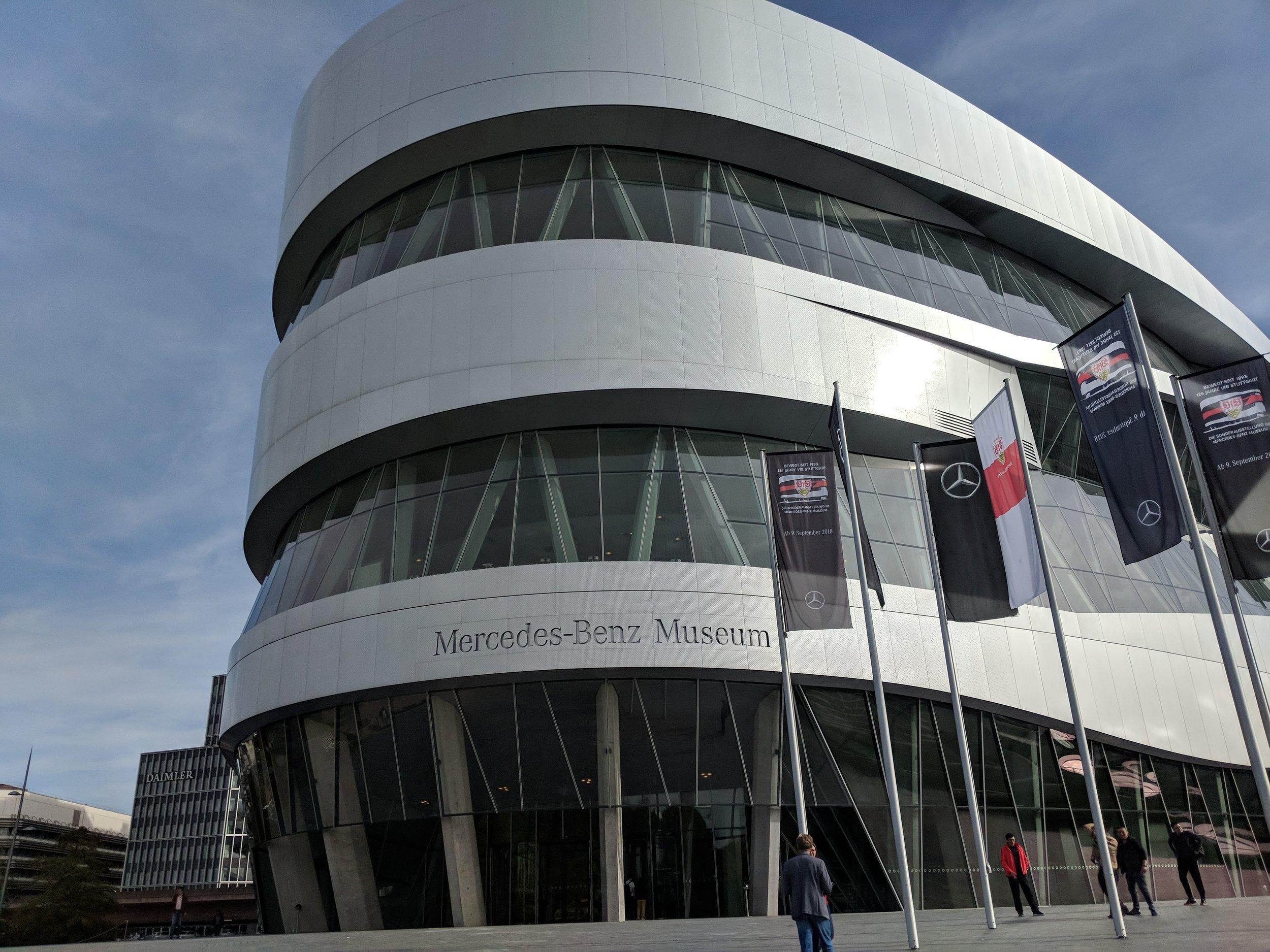 Mercedes Museum, Stuttgart Germany
