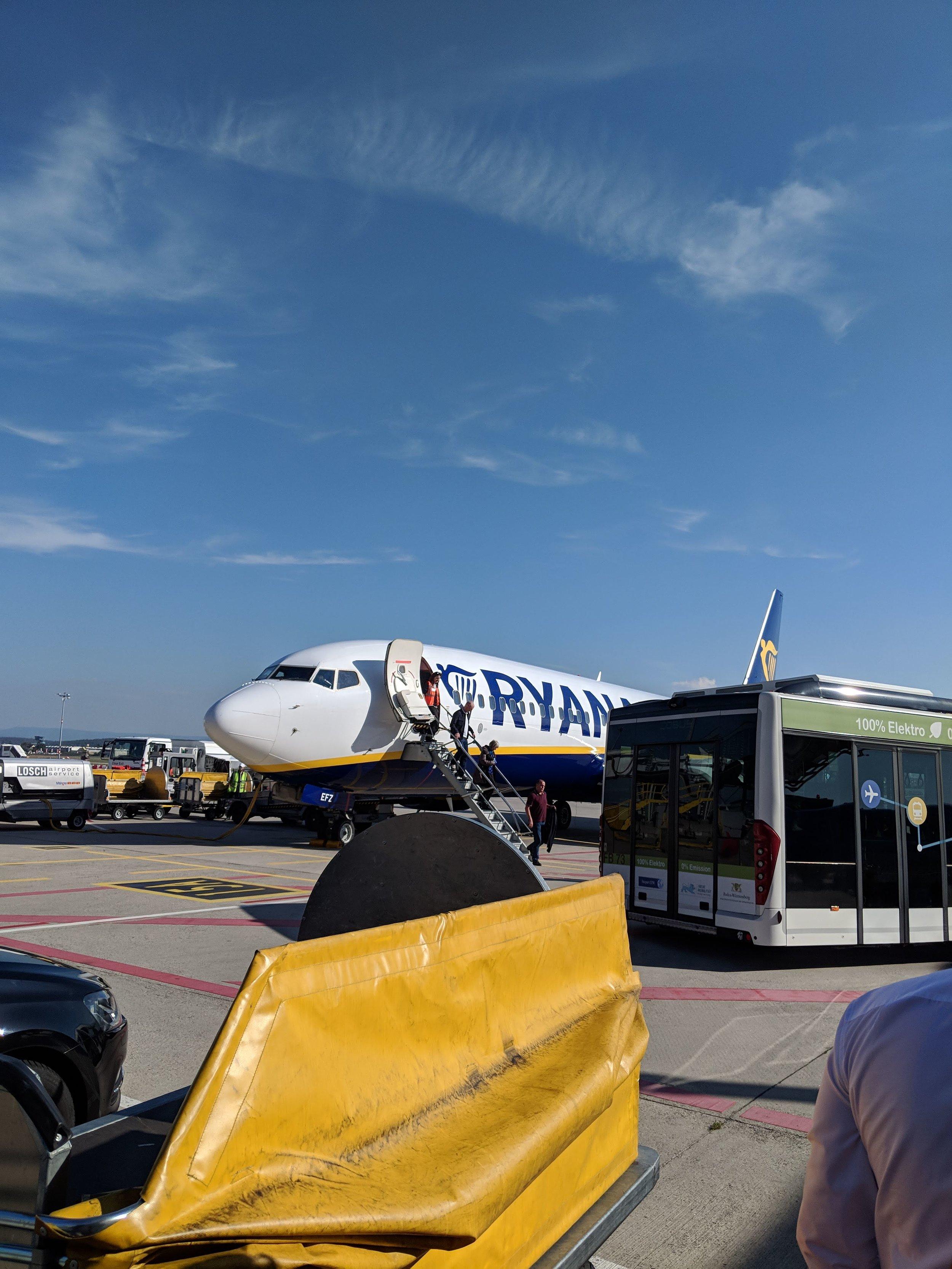 Ryan Air   Stuttgart, Germany