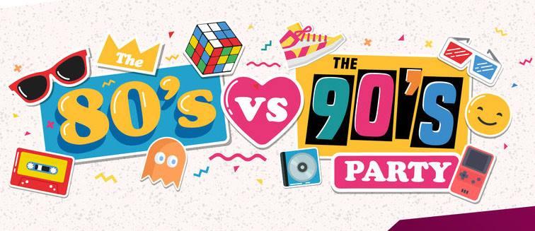 Sat Nov 17 80 vs 90's Dance Party returns to The Atlantic w/ DJ Cam 10pm / No cover, 21+ only!