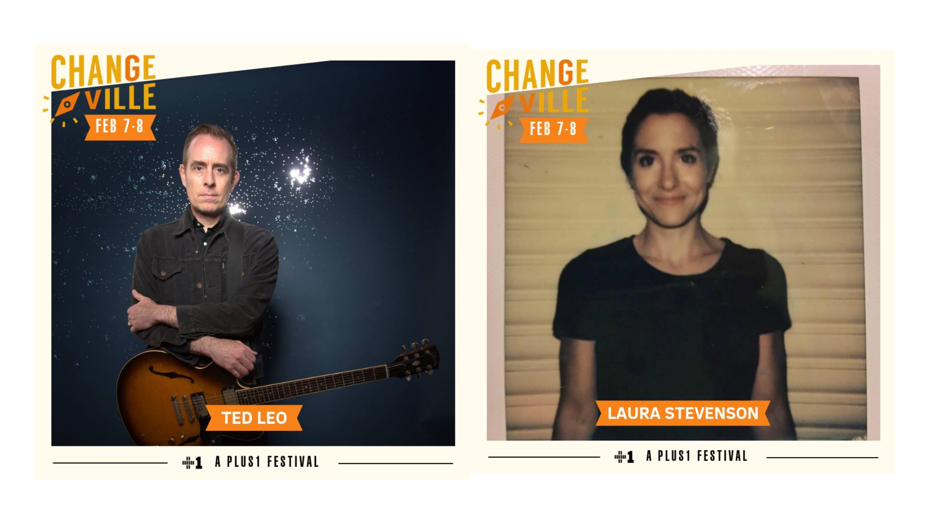 """Featuring Ted Leo and the Pharmacists (solo), Laura Stevenson , and more!  The Changeville Festival is a downtown music & arts festival featuring local and national artists united by a passion for social change. The two-day festival will take place at venues around the city's downtown such as Bo Diddley Plaza, The Hippodrome, High Dive, Wooly/Atlantic, Civic Media Center, Volta, & more.  Single-venue tickets and a limited amount of festival passes are available now at changeville.us/tickets   *Ted Leo, frontman for The Pharmacists, returned from his seven year hiatus last year to debut his solo work, The Hanged Man. Being dropped from label Matador Records seemed to do little to no damage to Leo. The album was funded through a Kickstarter campaign fans helped reach its goal within the first day. Leo recorded in a home studio where he played many of the instruments himself.  Coinciding with his return to music, Leo has become more open to exploring past traumas he has endured in his latest release. Likewise, many songs featured on The Hanged Man act as a vehicle for Leo to discuss topics such as institutional racism, sexism, and xenophobia. He explains these tracks are not an excuse to yell at the President, but rather to help those on the ground who are directly affected by these phenomena and to start a conversation with those who'll actually listen.  *Laura Stevenson, the former keyboard player for Bomb The Music Industry!, has released four albums since her initial solo debut in 2010, A Record. Many of Stevenson's lyrics deal with emotionally closing off, refusing support from others, and the persistent fear she's wasted her younger years unable to shake these habits. When asked why her music deals with such sad aspects of life yet sounds so musically lighthearted, Stevenson told Allston Pudding, """"I try not to be so melodramatic because life is just so much happiness and sadness juxtaposed. The contrast makes it more fun and easier to deal with. Life's going to b"""