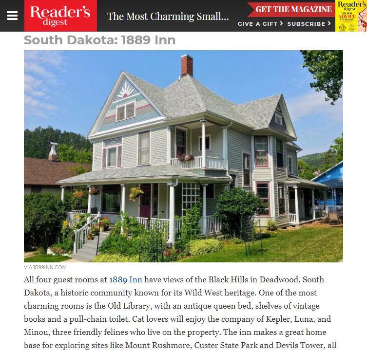 Most Charming Bed and Breakfasts in Every State   Reader s Digest.png