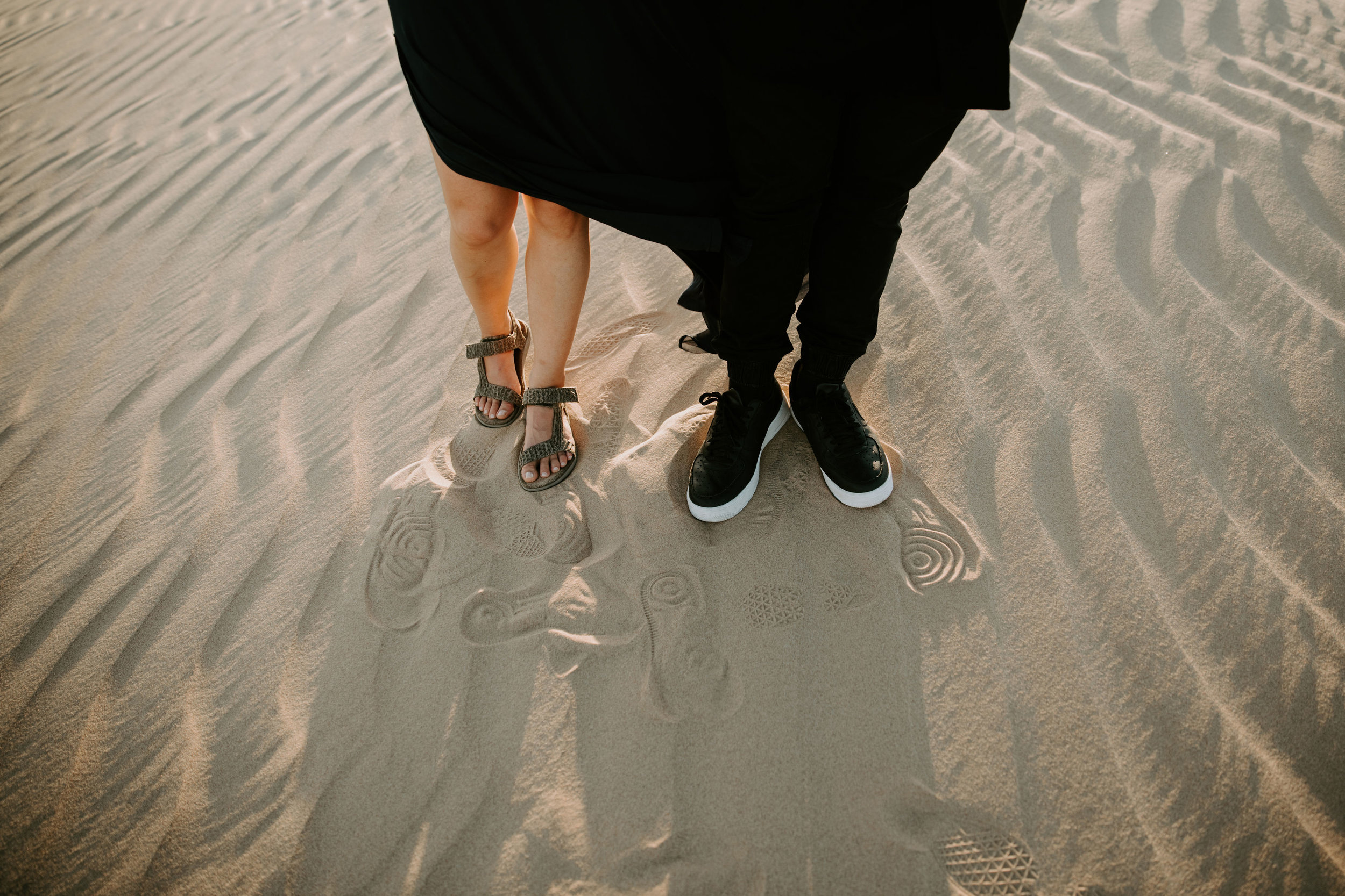 California Imperial Sand Dunes Engagement May Iosotaluno