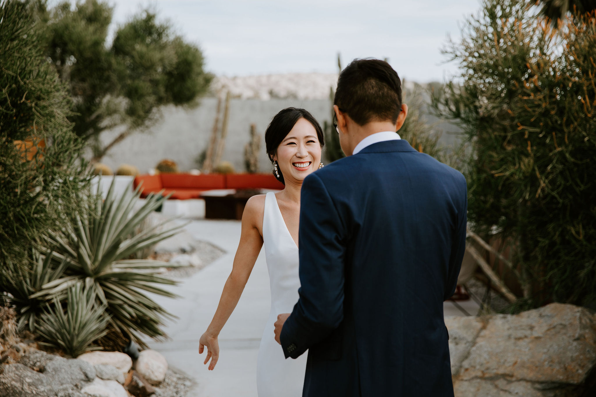 Mid Century Modern Palm Springs Wedding Lautner Compound May Iosotaluno Photography 12