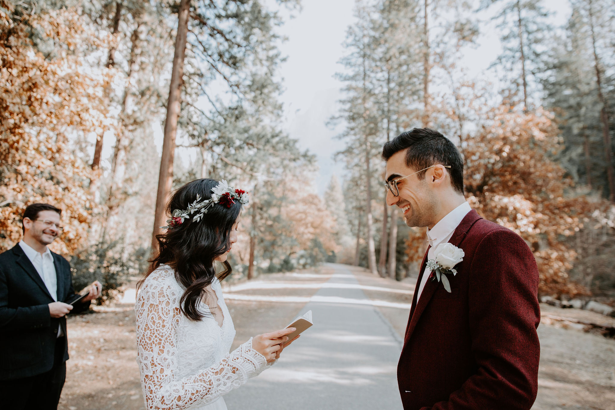 Yosemite National Park Elopement Ceremony May Iosotaluno Photography