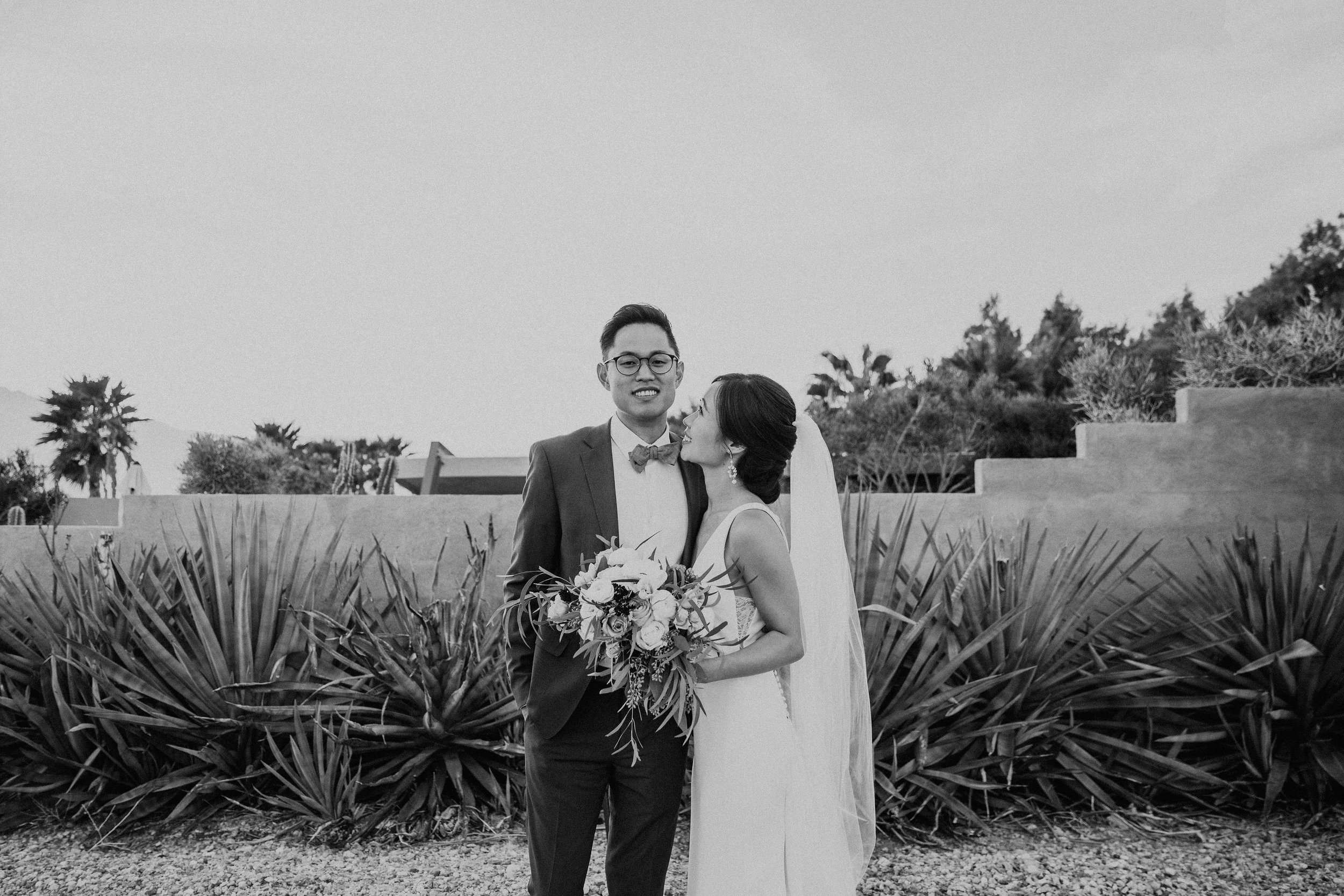 Mid Century Modern Palm Springs Wedding Lautner Compound May Iosotaluno Photography 1