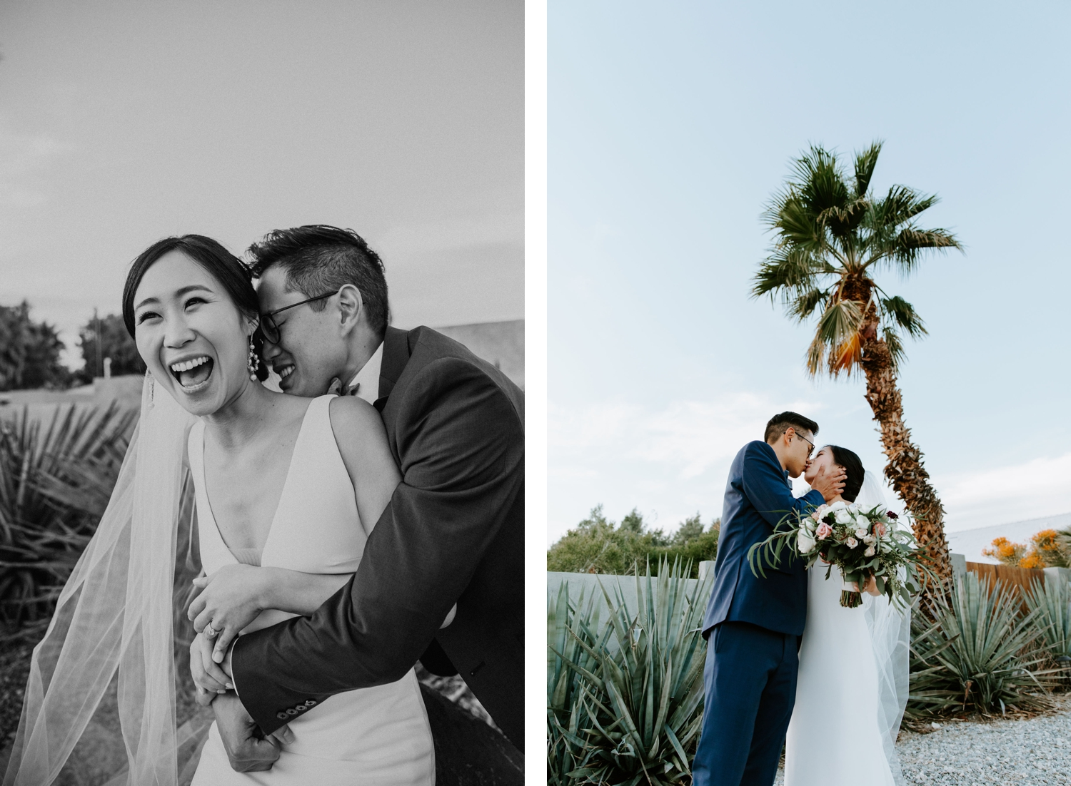 Mid Century Modern Palm Springs Wedding Lautner Compound May Iosotaluno Photography